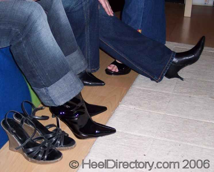 High Heel Boots 1